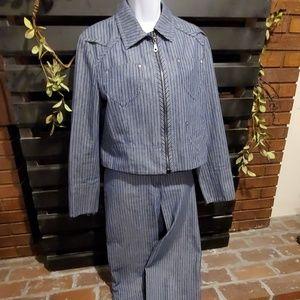 HARVE' BENARD pant suit.          #274